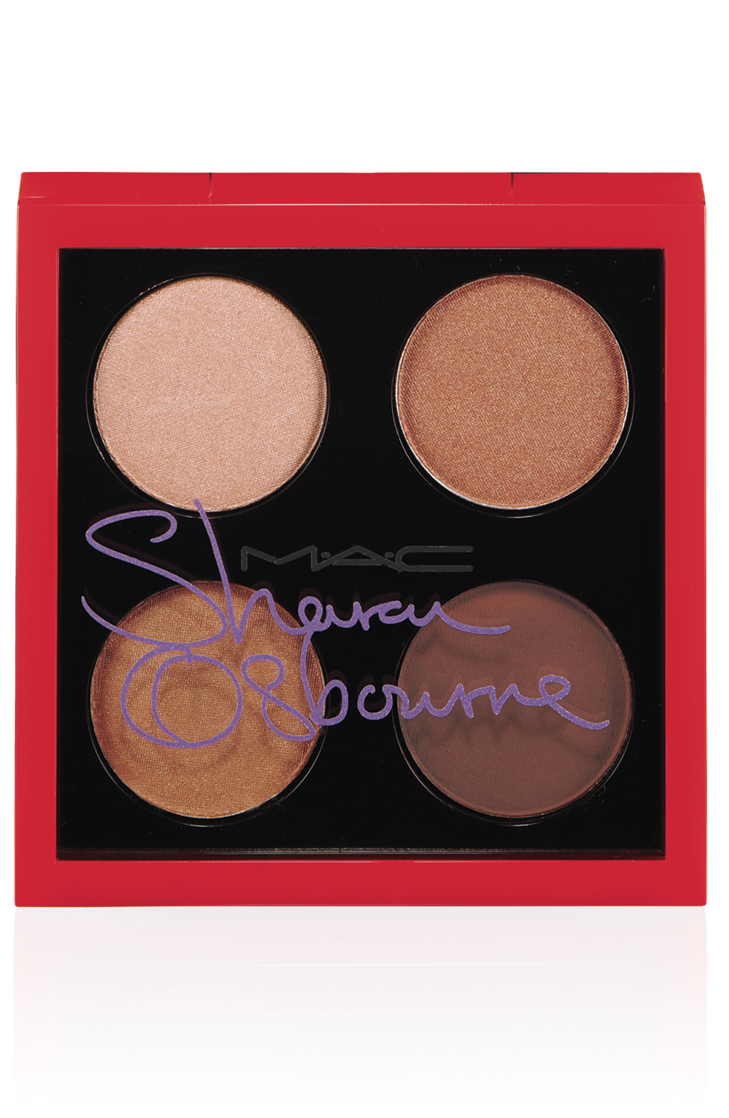 M.A.C. Sharon Osbourne Duchess eye shadow quad