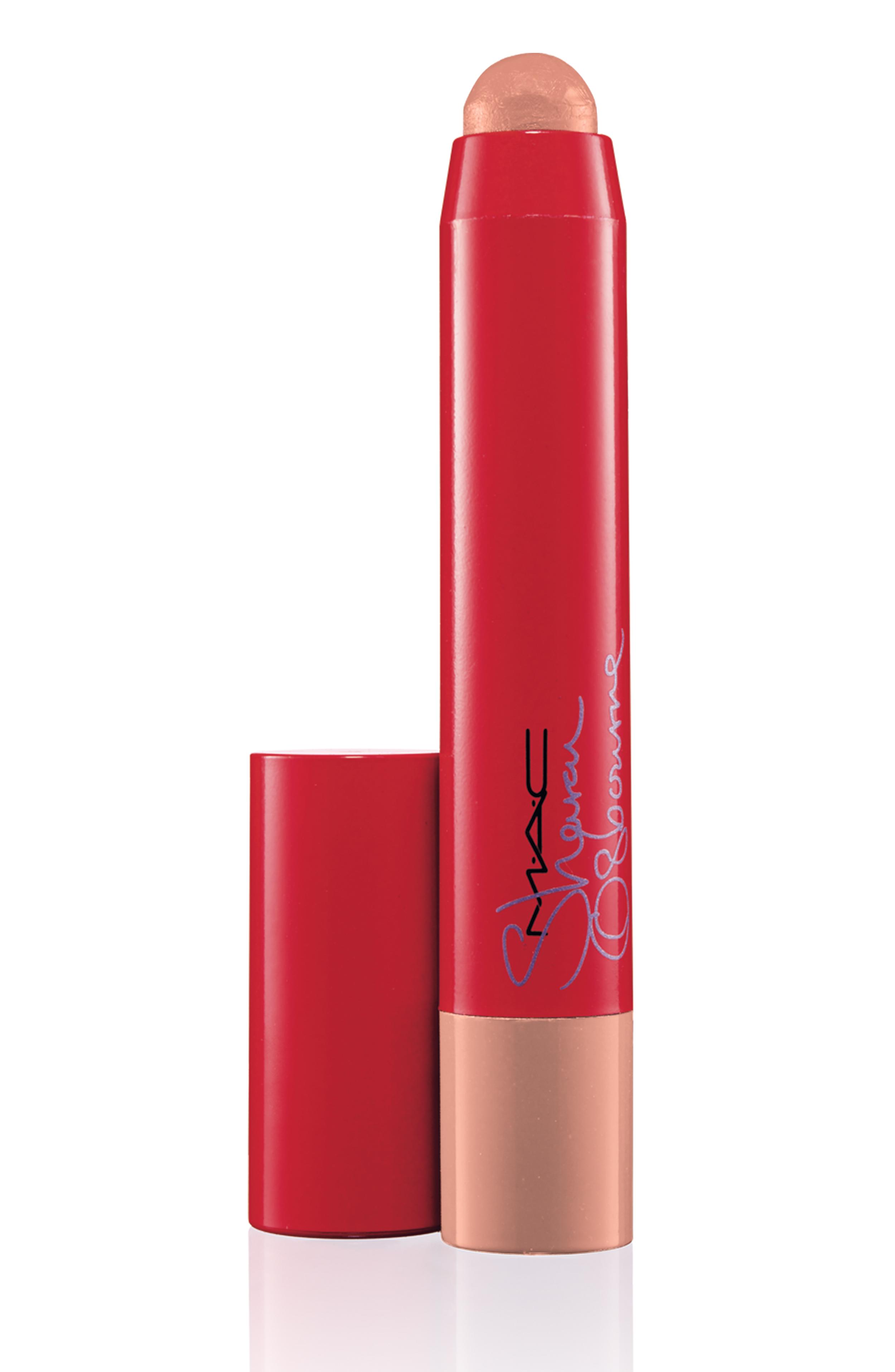 M.A.C. Sharon Osbourne PatentPolish lip pencil in Innocent