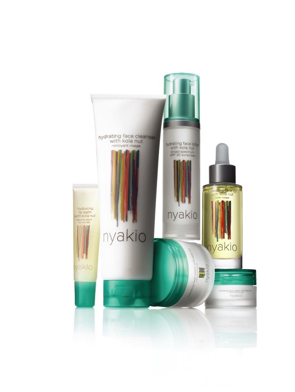 nyakio Skincare Hydrating Kola Nut Collection