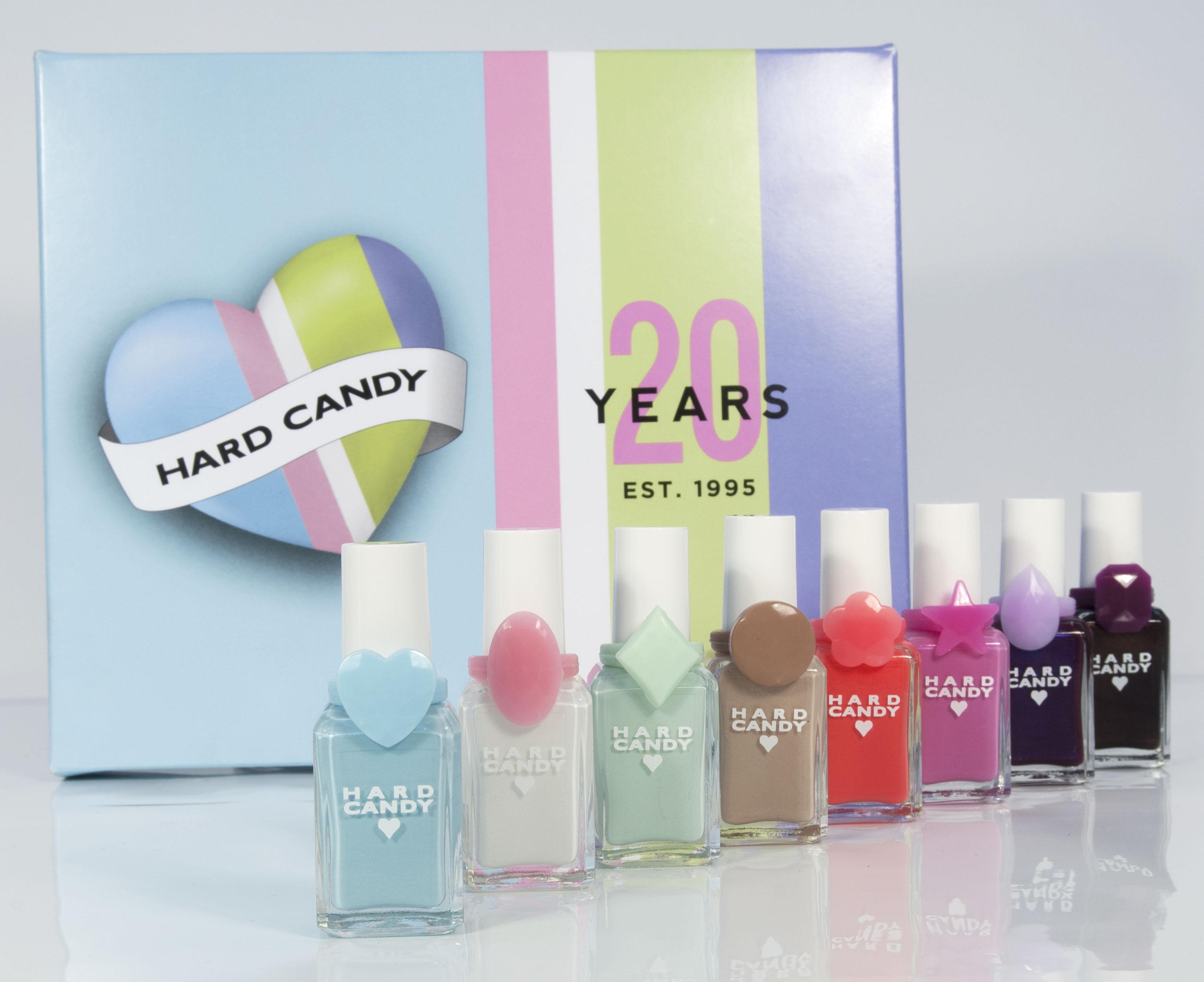 Hard Candy 20th Anniversary Nail Polishes