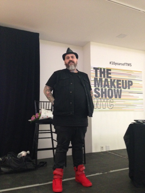 Makeup maestro James Vincent at the 2015 Blogger Preview