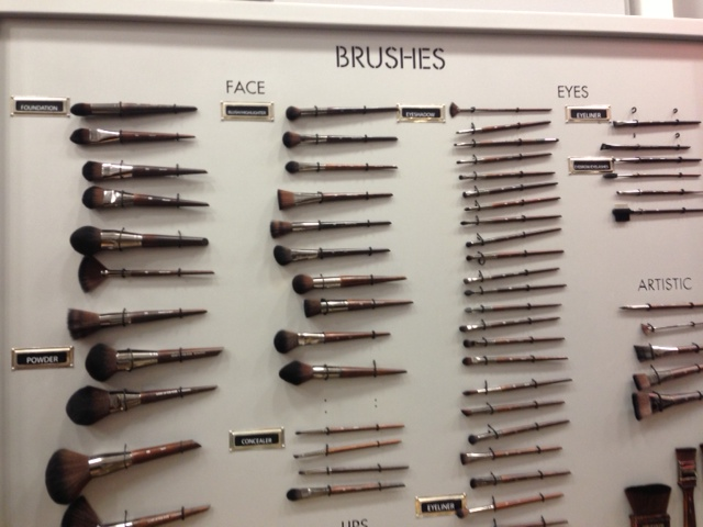 Makeup brushes at Makeup Forever