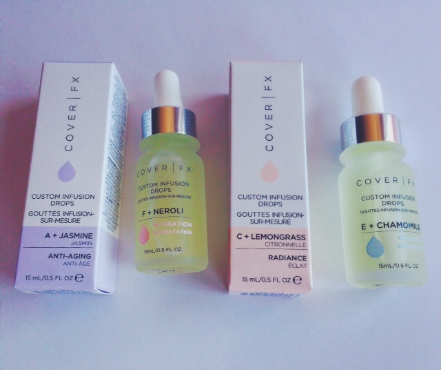 CoverFX recently threw a great party to celebrate the launch of its Custom  Infusion Drops. The drops contain a vitamin and an essential oil that work  ...