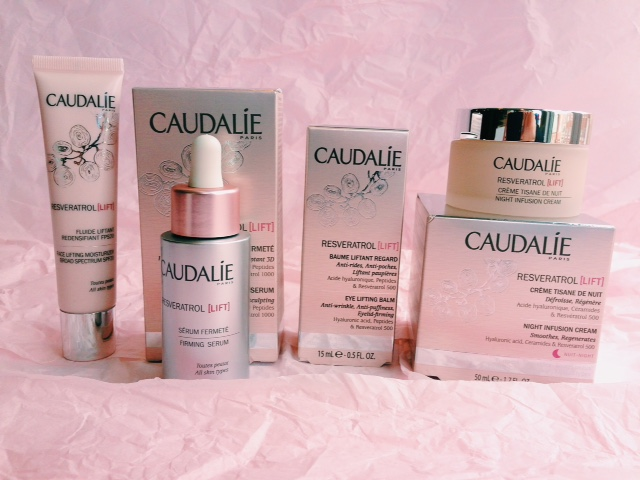 Product Review Caudalie Resveratrol Lift Fabulous Forever Blog
