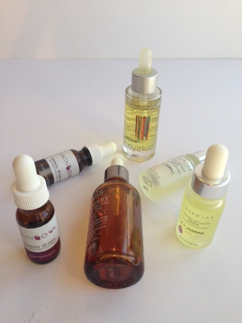 Some of my favorite face oils
