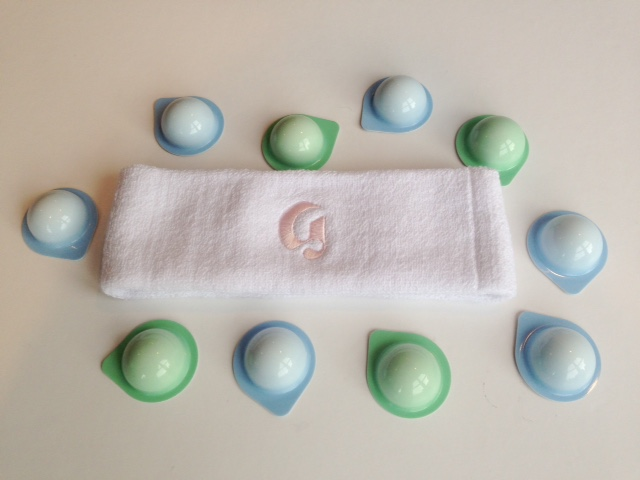 Glossier Mask Pods and Headband