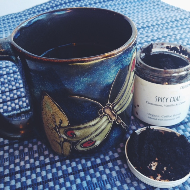 California Scrub Company Spicy Chai Coffee Scrub