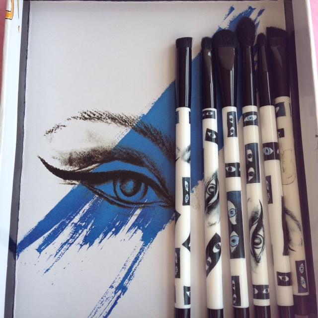 Sonia Kashuk 6-Piece KO Beauty Smokey Eye Brush Set