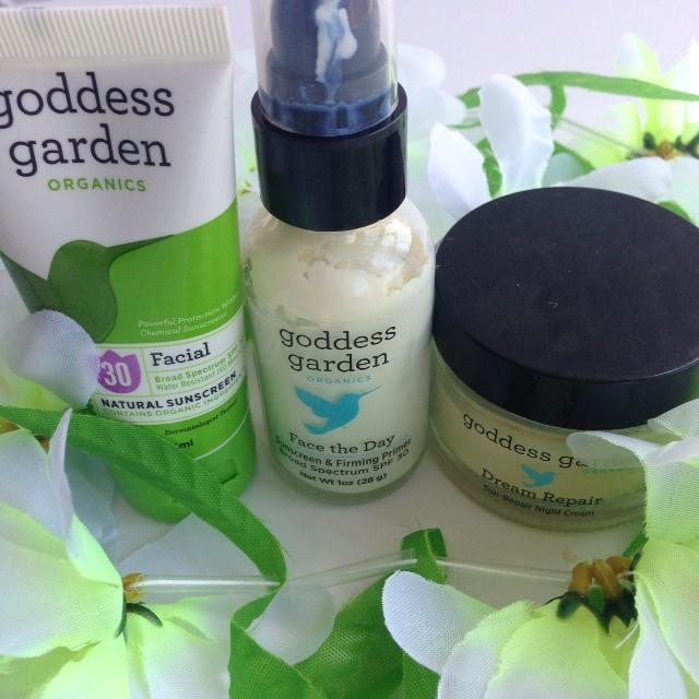Skin care from Goddess Garden