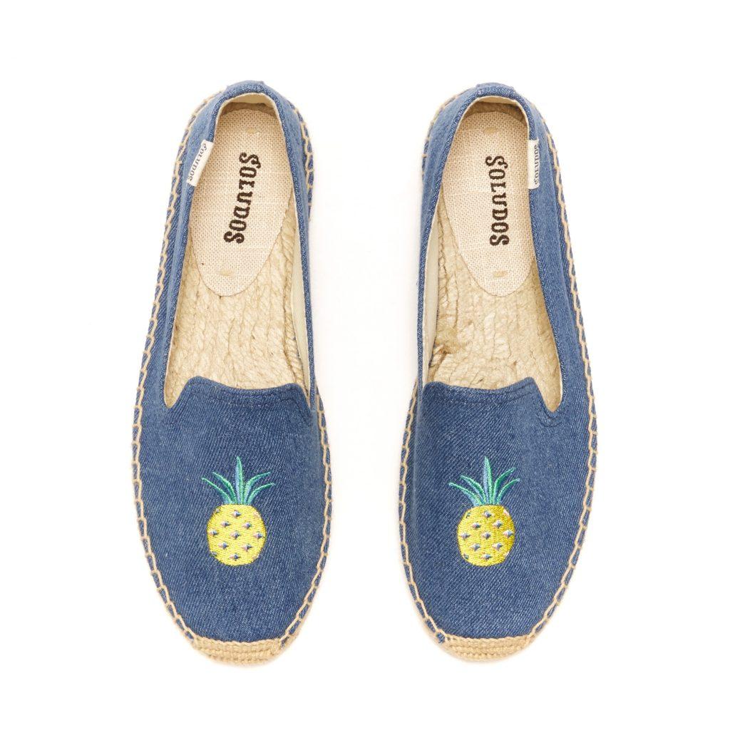 Soludos Pineapple Smoking Slippers