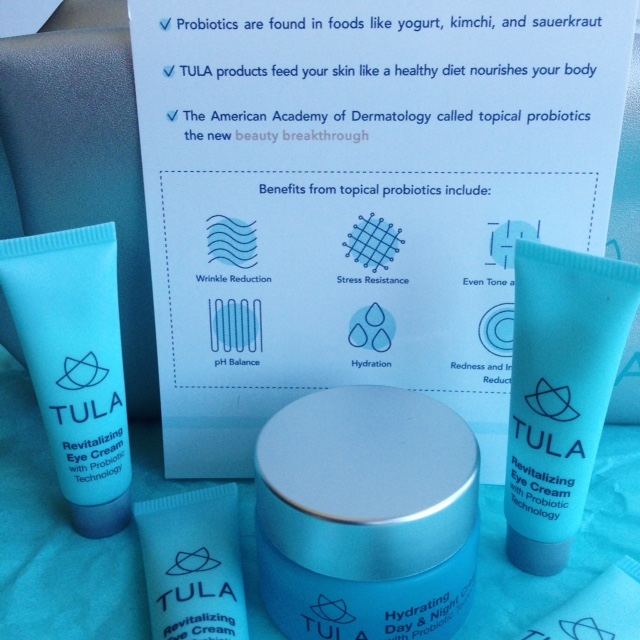 Probiotic-based skin care from Tula