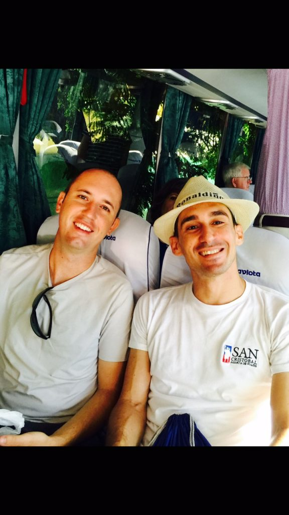 Insight Cuba tour leaders Graham and Pablo